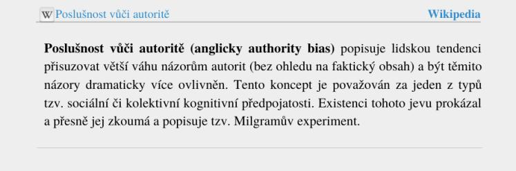 Poslušnost vůči autoritě - wikipedia